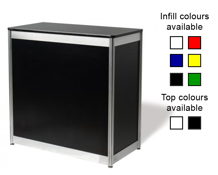 Rectangular Lockable Counter