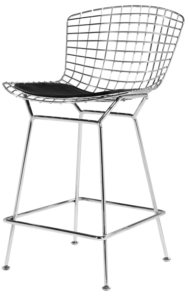 Wire Bar Stool by Harry Bertoia