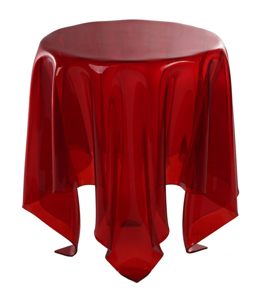 Illusion Side Table by John Brauer