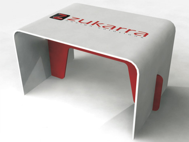 Eco Table with print
