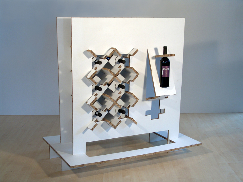 Wine Display for exhibition and retail