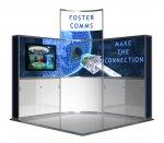 'Enticer' - 3 X 3 Corner Stand